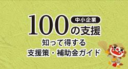 中小企業100の支援