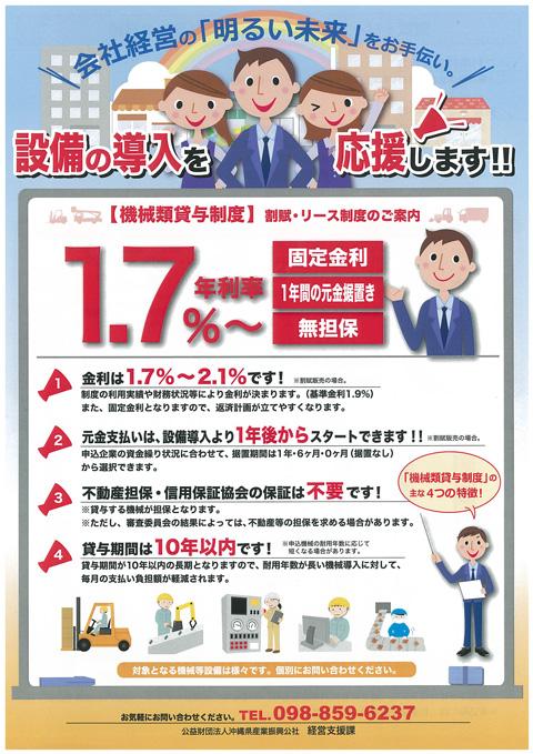 機械類貸与事業
