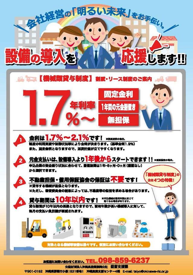 令和3年度_機械類貸与制度_沖縄県産業振興公社